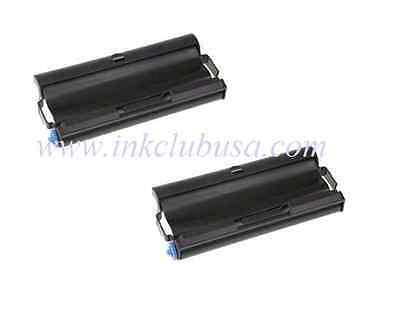 2PK New Fax Ribbon Cartridge For Brother PC501 PC-501 Brother Fax-575 Fax575