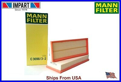 Mercedes Air Filter Set 273 094 04 04 MANN C3698/3-2