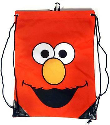 Sesame Street: Official Elmo Face Logo Gym Bag - Brand New In With Card Tag