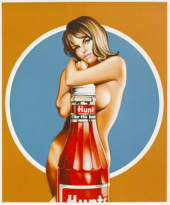 Mel Ramos - Hunt for the Best - 2013, Pop Art Grafik Lithografie, Luxus