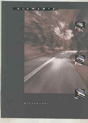 1996 Mitsubishi Diamante Brochure mx9112