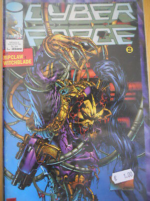 CYBER FORCE n°34 1996 ed. STAR Comics   [G.165]