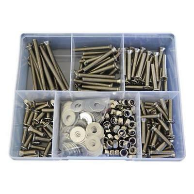 Kit Size 300 Countersunk Machine Screw M6 Stainless G304 Bolt Nut Washer SS #37