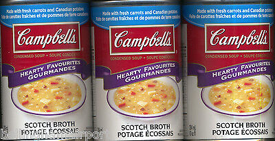 Campbell's Scotch Broth Soup DISCONTINUED From CDN makes 60 oz. w3cans