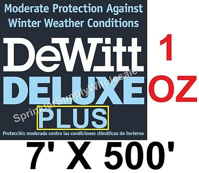 DeWitt Deluxe PLUS 7x500' 1oz Frost Protection Germination Blanket DeluxePlus7-5