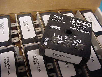 New 2 pieces Crouzet Syrelec electronic Interval timer QHS 30M 24A