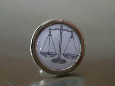 Lawyer Jp Scales Of Justice Tie Lapel Suit Pin New