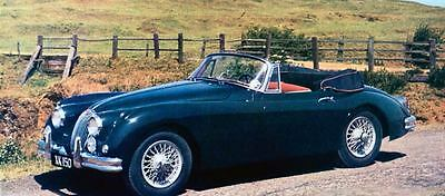 1961 Jaguar XK150S Drophead Coupe Factory Photo J1077