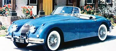 1961 Jaguar XK150 Roadster Factory Photo J1079