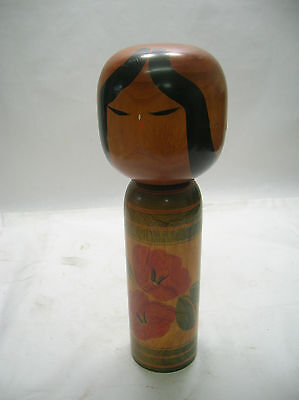 Kokeshi Japanese Doll Vintage Wooden Doll Traditional Style #279
