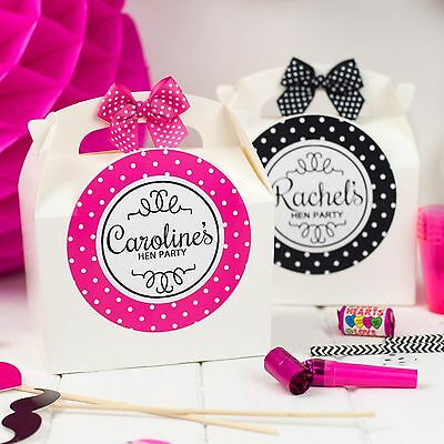 Personalised Hen Party Gift Box ** Filled** Create Your Own Birthday Favour Bag