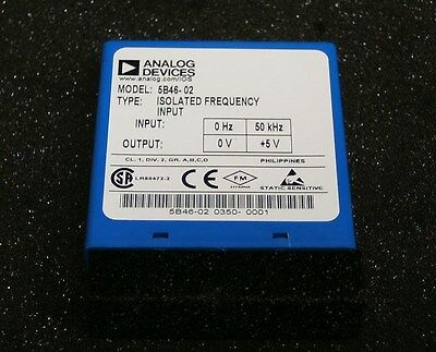 Analog Devices 5B46-02 Isolated Frequency Module