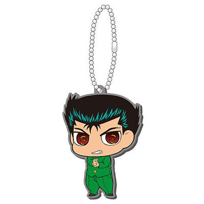 Yu Yu Hakusho Yusuke Rubber Key Chain Anime Manga Licensed MINT