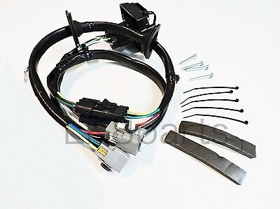 LAND ROVER LR4 TOW HITCH trailer WIRING WIRE HARNESS KIT LR4 ... on towing stone guards, dodge ignition wire harness, car towing harness, towing light harness, towing wiring connectors, towing accessories, towing cable, ford focus trailer harness,