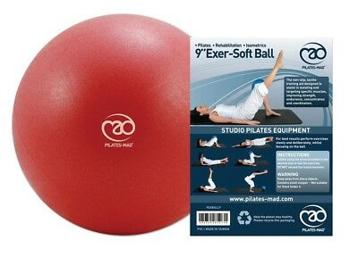 """Fitness Mad 9"""" Exer-Soft Exercise Gym Ball Ideal For Pelvic & Pilates Workout"""