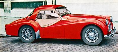 1957 Triumph TR3 Factory Photo J1693