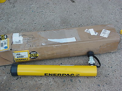 Enerpac Rc-1014 Duo Series Hydraulic Cylinder 10 Ton 14 Inch Stroke New