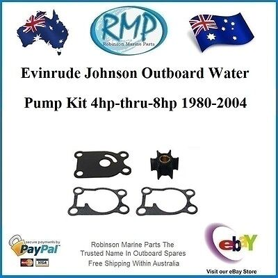A Brand New Evinrude Johnson Outboard Water Pump Kit 4hp-thru-8hp # R 12065