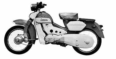 1961 Pointer Lassie Motorcycle Factory Photo J1995