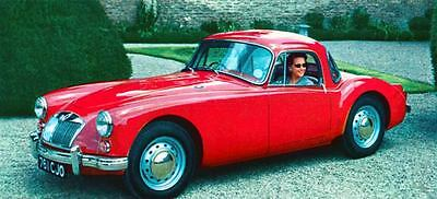 1960 MG MGA Coupe Factory Photo J205