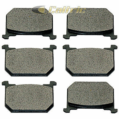 Front & Rear Brake Pads Fits Kawasaki Kz700 Sports 1984
