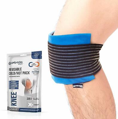 Luxury Reusable Knee Pain Relief Hot Cold Therapy Pack With Elasticated Cover