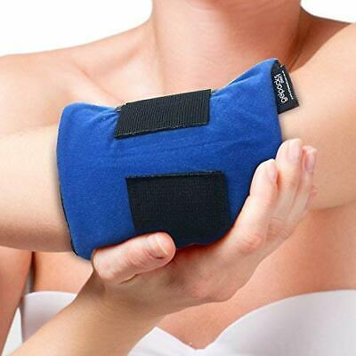 Large Reusable Hot Cold Heat Ice Gel Pack Tennis Elbow Support Elastic Strap