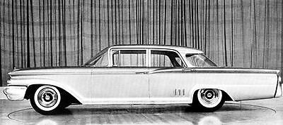 1960 Mercury Montclair Sedan Factory Photo J238
