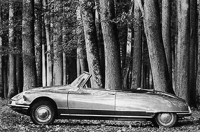 1963 Citroen ID19 Cabriolet Chapron Factory Photo J2387