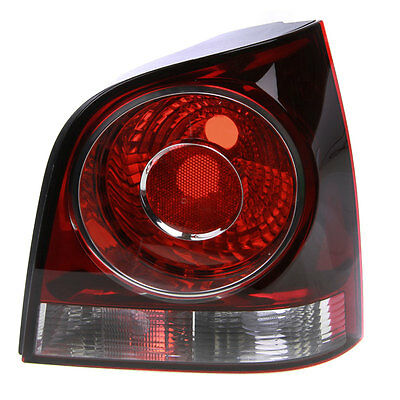 VW Polo 9N 2005-On Red & Clear Rear Light Lamp Right O/S Offside Driver Side