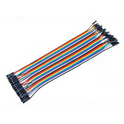 Cable Hembra Hembra 40 x 1 pin 20cm Female - Female Jumper Cables for Arduino
