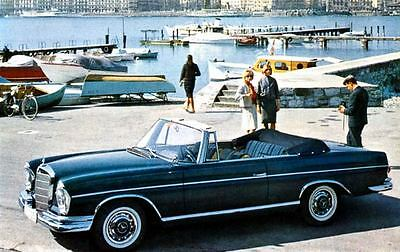 1963 Mercedes 300 SE Cabriolet Factory Photo J2514