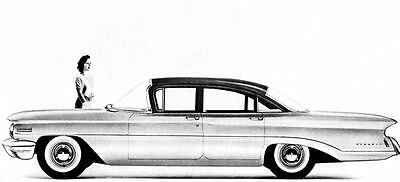 1960 Oldsmobile 88 Dynamic Sedan Factory Photo J257
