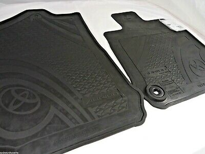 Toyota Aurion Floor Mats Front Rubber Gsv50 From Feb 2012> New Genuine Accessory