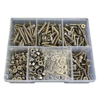 Kit Size 660 Countersunk Machine Screw M6 Stainless G304 Bolt Nut Washer #75