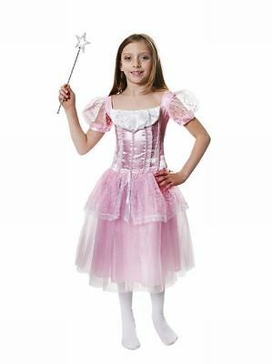 Girls Fancy Dress Costume Outfit Pink Princess Bnwt