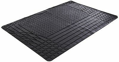 Black Heavy Duty Rubber Boot Mat Liner for BMW 3 Series E46 Compact 01-05