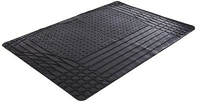 Black Heavy Duty Rubber Boot Mat Liner for BMW 5 Series E39 96-04