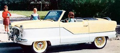 1958 AMC Metropolitan Convertible Factory Photo J525