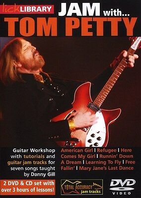 Lick Library: JAM With Tom Petty Gitarre 2 x DVD (Region 0), CD