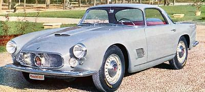 1958 Maserati 3500 GT Touring Coupe Factory Photo J693