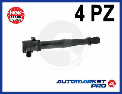 48034 4 Bobine Kit Accensione Ngk Fiat Stilo Doblo' 1.6 1600 16V + Natural Power