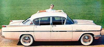1958 Vauxhall Cresta Saloon Factory Photo J806