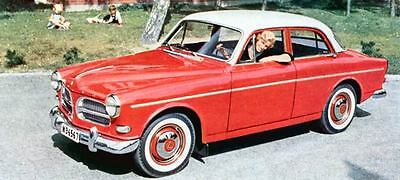 1958 Volvo Amazon Saloon Factory Photo J808