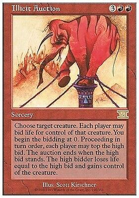 Asta Immorale - Illicit Auction MTG MAGIC 6E Eng/Ita
