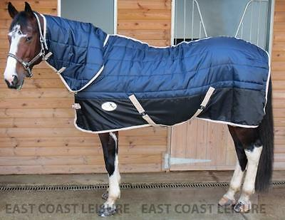 Equidor Aurora 200G Horse Stable Rug Combo Fixed Neck Medium Weight Size : 4'6""