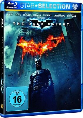 Blu-ray BATMAN - THE DARK KNIGHT # Christian Bale, Michael Caine ++NEU