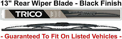 "13"" Rear Wiper Blade Fits Rear Arms - BLACK Finish - Trico 30-130"