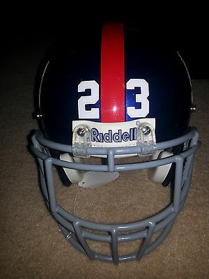 NY Giants Corey Webster # 23 Game Used Helmet
