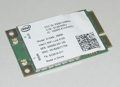 Intel Wifi Link 5100 512AN_MMW 300Mbps 802.11 Wireless N PCI-E Card